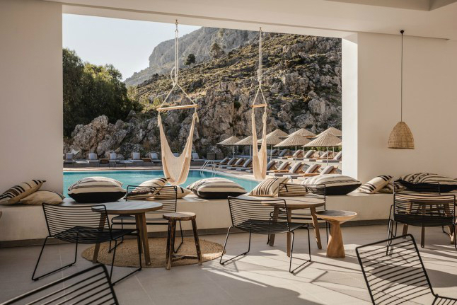 Casa Cook: Bringing an Urban Beat to the Beach   bohemian hotel design on greek island 28