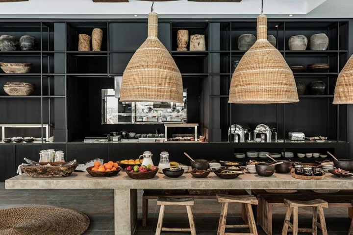 Casa Cook: Bringing an Urban Beat to the Beach   bohemian hotel design on greek island 3