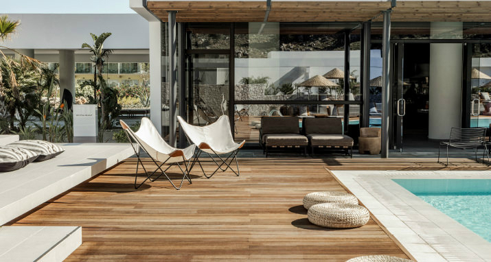 Casa Cook: Bringing an Urban Beat to the Beach   bohemian hotel design on greek island 31