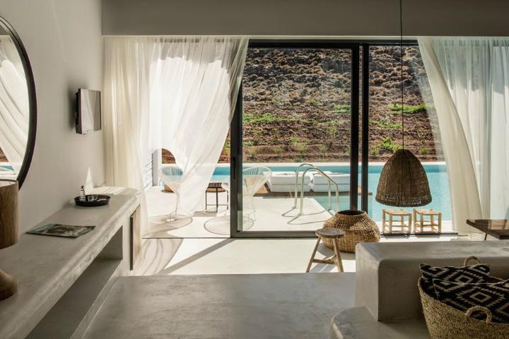Casa Cook: Bringing an Urban Beat to the Beach   bohemian hotel design on greek island 34