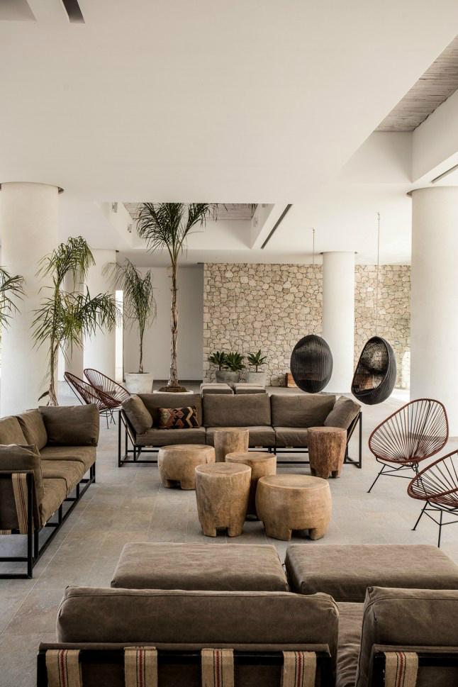 Casa Cook: Bringing an Urban Beat to the Beach   bohemian hotel design on greek island 5