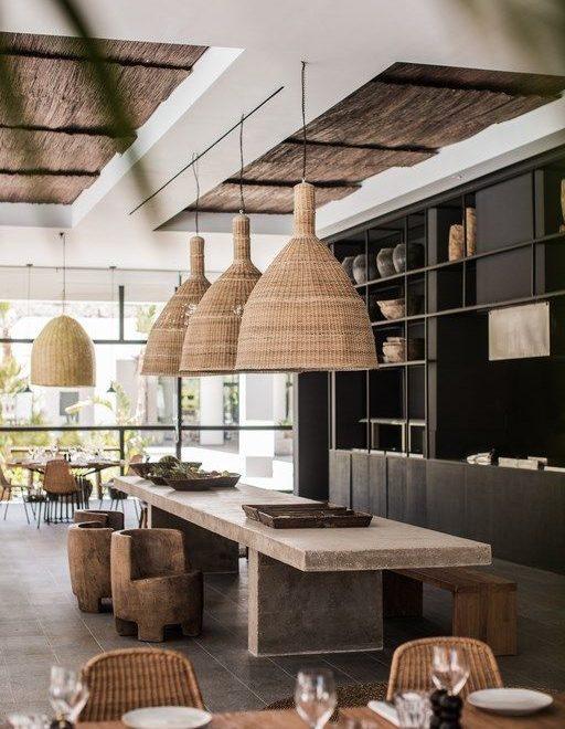bohemian hotel design on greek island of Rhodes