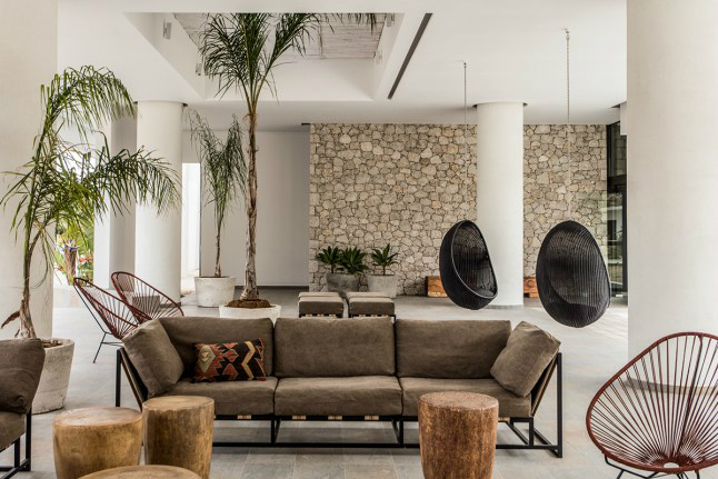 Casa Cook: Bringing an Urban Beat to the Beach   bohemian hotel design on greek island 6