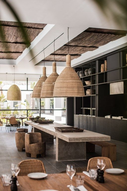 Casa Cook: Bringing an Urban Beat to the Beach   bohemian hotel design on greek island