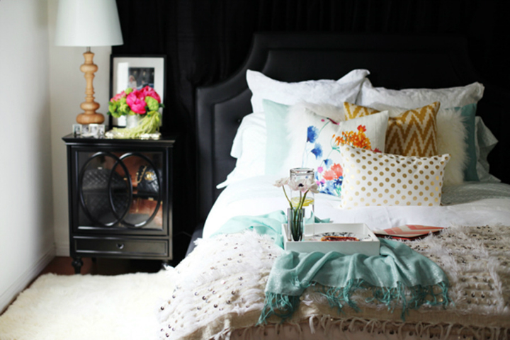 Boho Glam Home interior 17