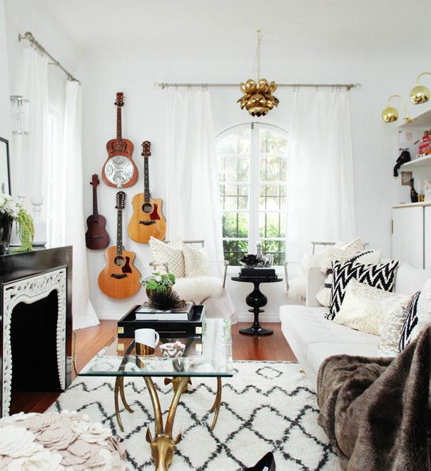 Boho Glam Home interior