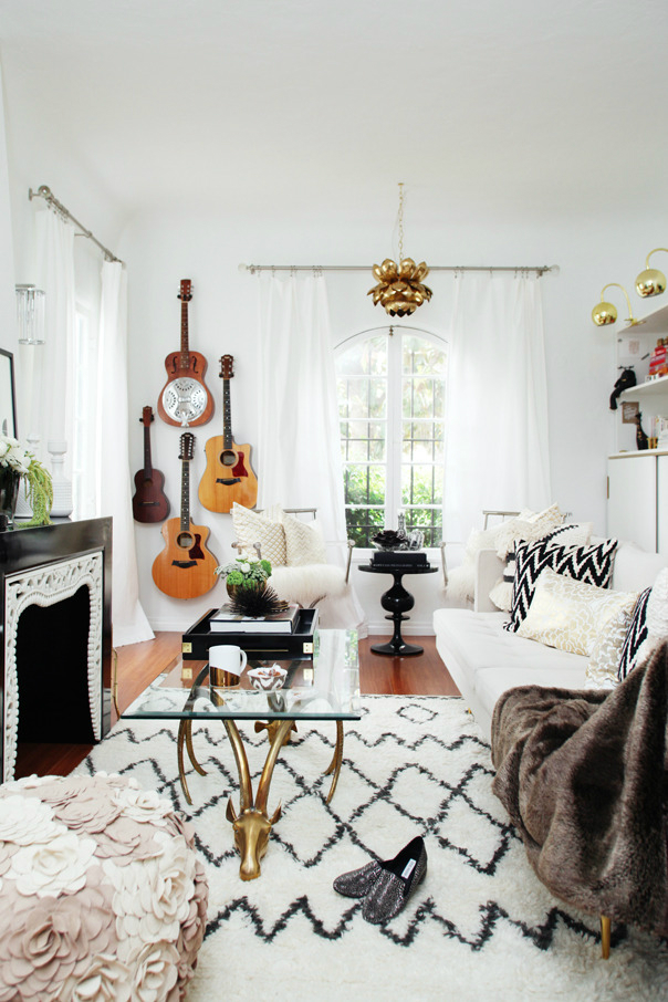 Boho Glam Home interior