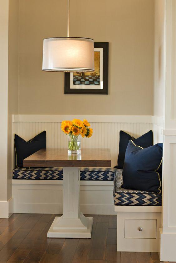 title | breakfast nook table