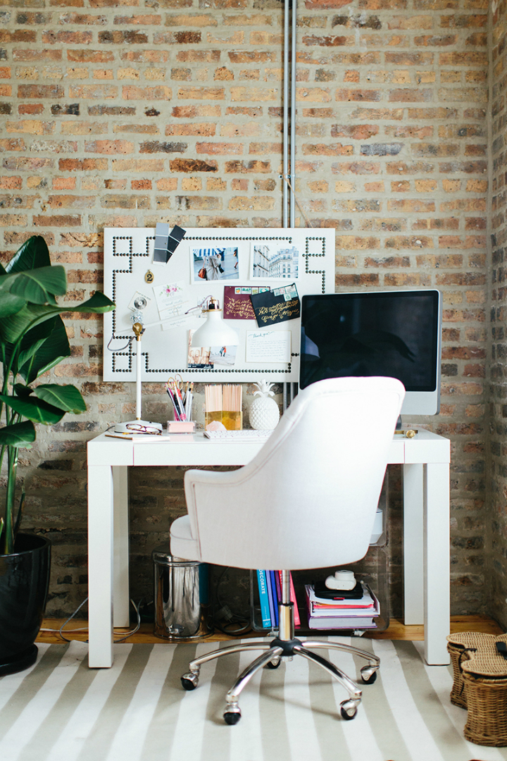 The Everygirl Cofounders' Amazing Chicago Home and Office 24