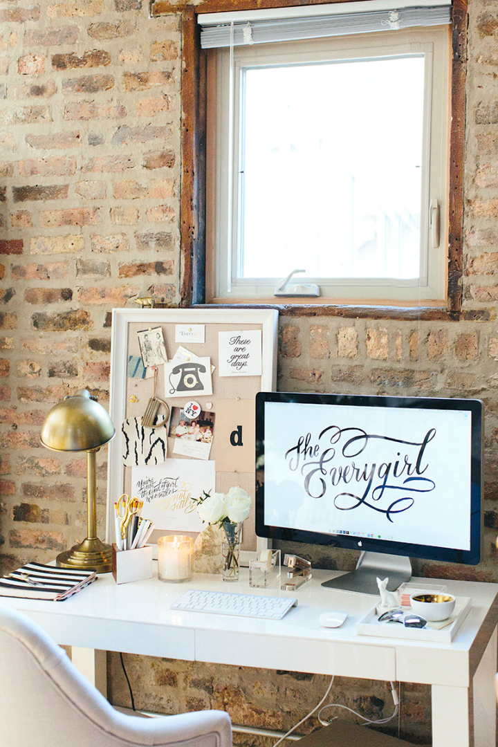 The Everygirl Cofounders' Amazing Chicago Home and Office 29