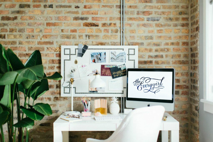 The Everygirl Cofounders' Amazing Chicago Home and Office 6