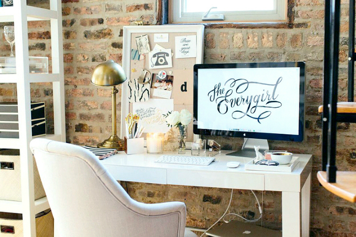The Everygirl Cofounders' Amazing Chicago Home and Office 7