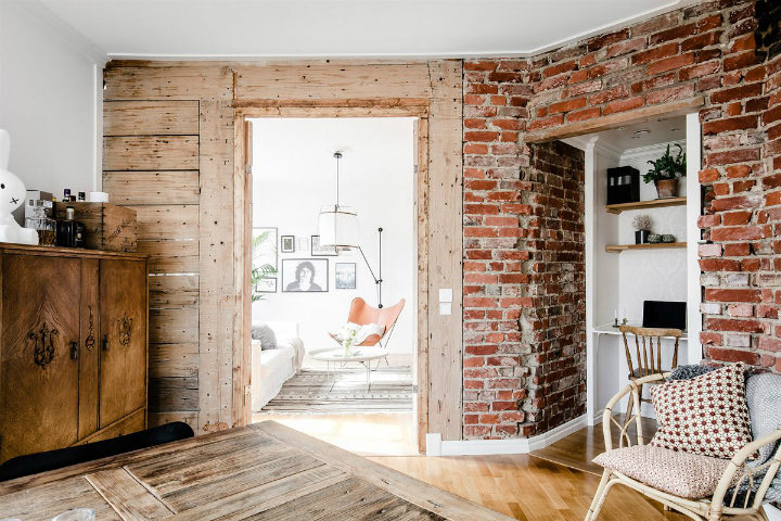 Exposed Brick, Distressed Wood, And Modern Concepts 8