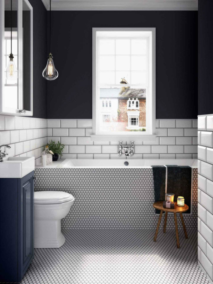 black and white bathroom designs 21 bathroom ideas why a classic black and white scheme is always a winner decoholic 3794