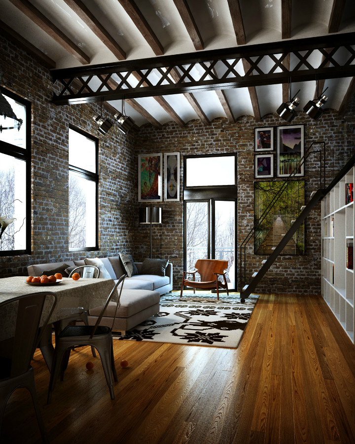 Perfectly Designed Loft 4