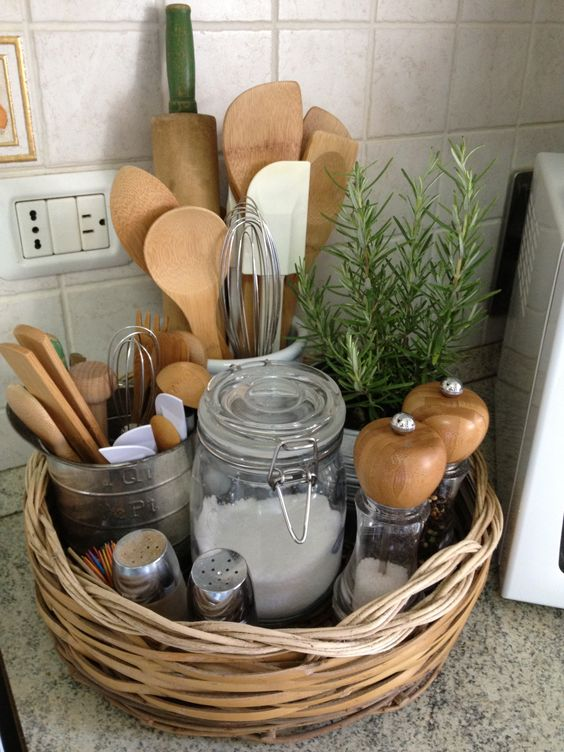 10 Ways to Style Your Kitchen Counter Like a Pro - Decoholic on Counter Decor  id=23671
