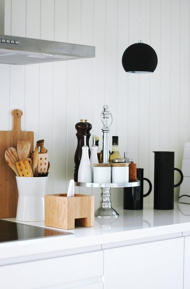 10 Ways to Style Your Kitchen Counter Like a Pro - Decoholic on Counter Top Decor  id=35105