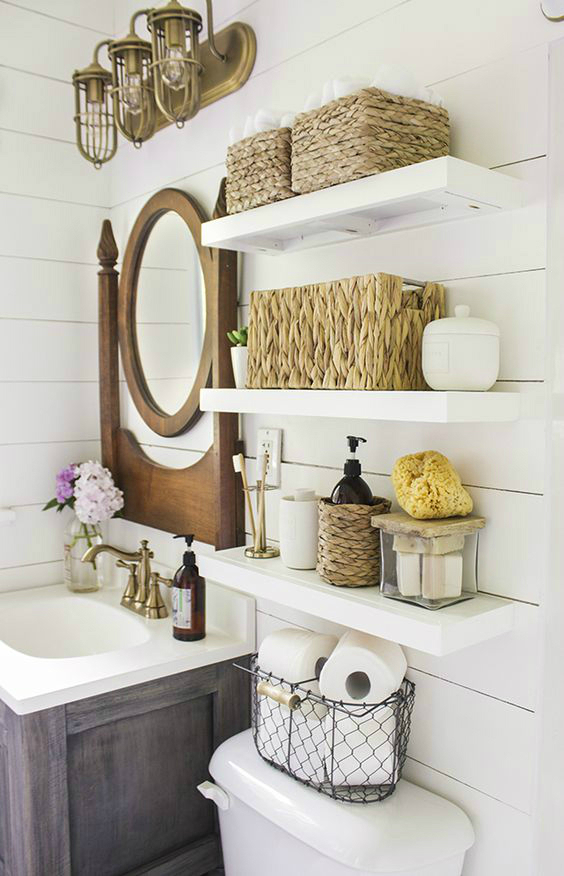 Easy Ways To Make Your Rental Bathroom Look Stylish 8