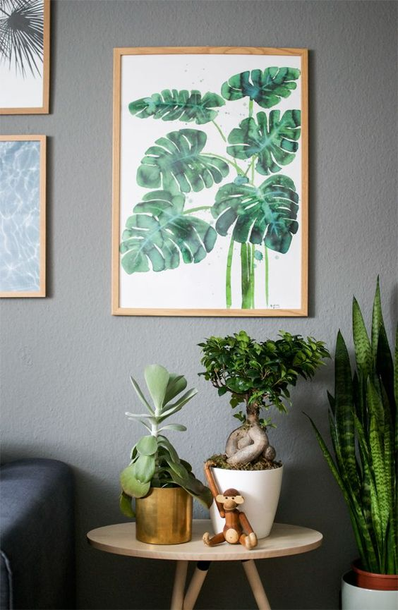 How to decorate your home with exotic prints decoholic - Decorate home with plants ...