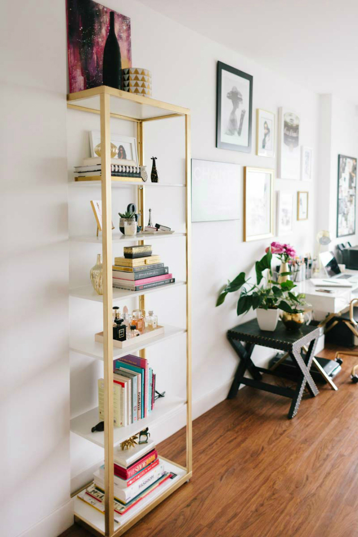 Tiny San Francisco Apartment that is Every Girl's Dream Home 10