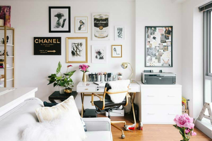 Tiny San Francisco Apartment that is Every Girl's Dream Home