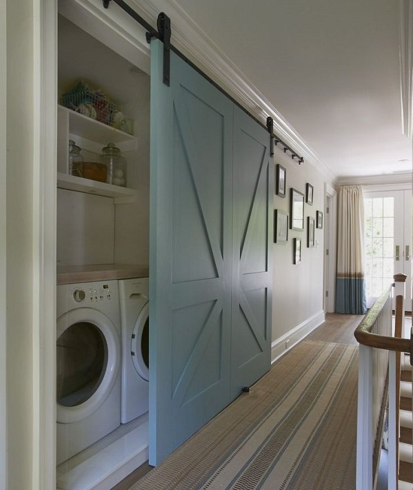 alcove laundry closet