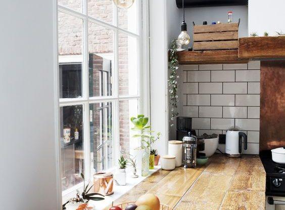 creative kitchen alcove design