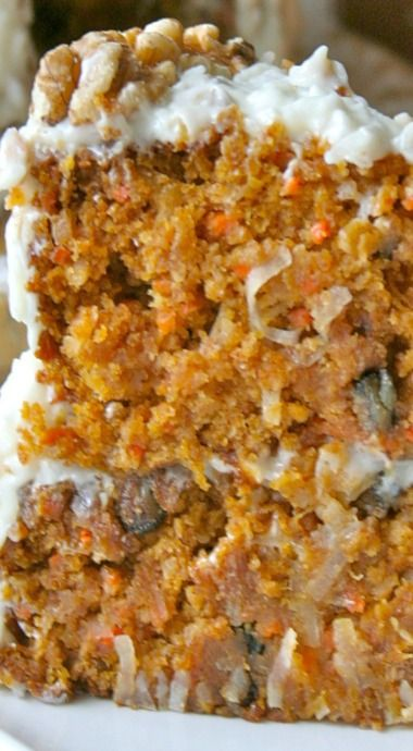 Pumkin Carrot Cake