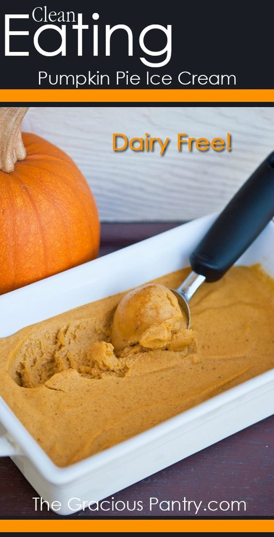 Clean Eating Pumpkin Ice Cream Recipe