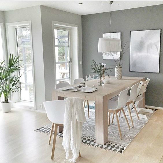 Contemporary Dining Room Ideas: 10 Ways To Create A Relaxed Look Dining Room