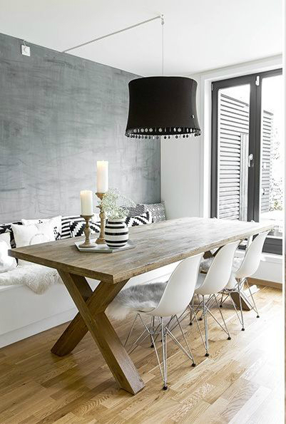 10 ways to create a relaxed look dining room decoholic for Dining room looks