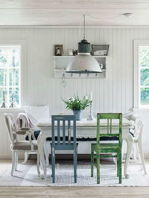 30 Ways To Create A Trendy Industrial Dining Room: 10 Ways To Create A Relaxed Look Dining Room