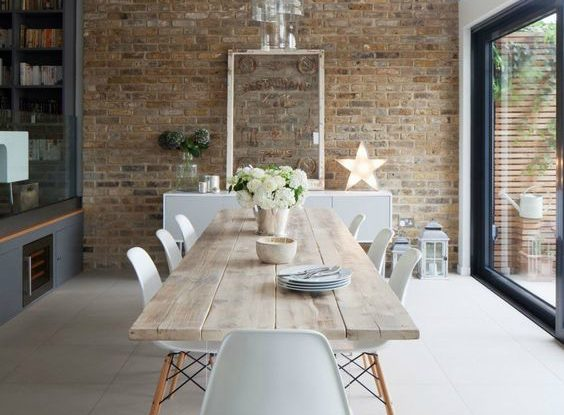 Relaxed Look Dining Room