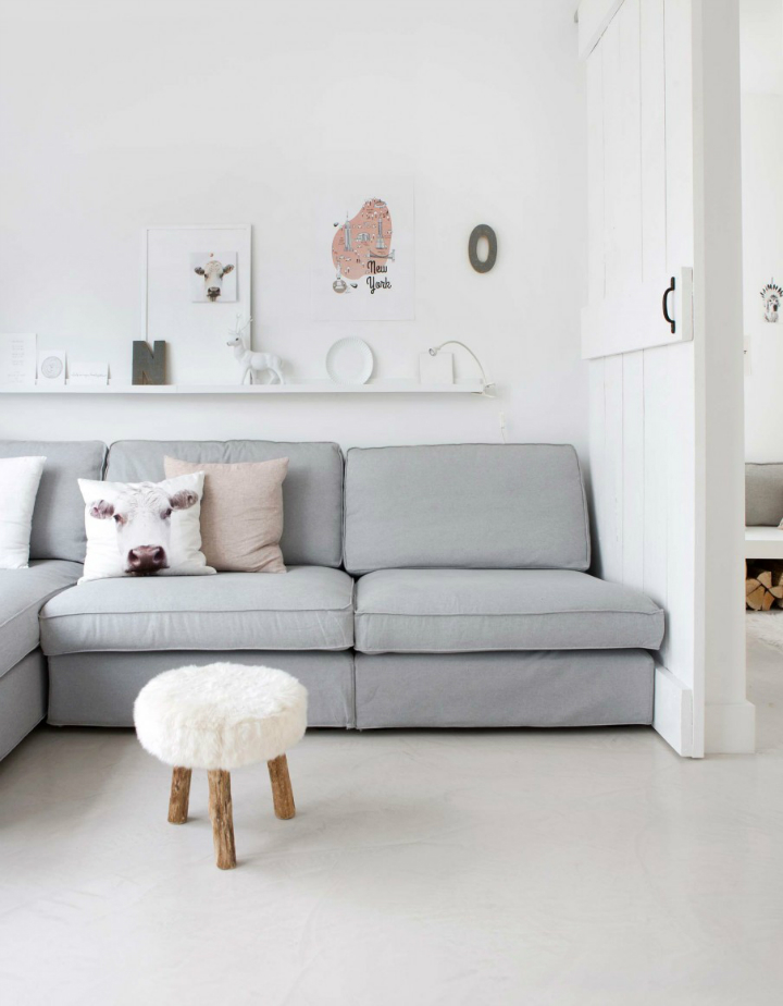 Sophisticated White-Themed Home 3
