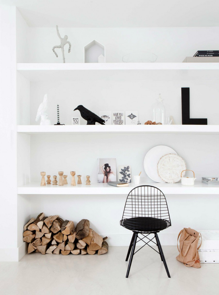 Sophisticated White-Themed Home 6