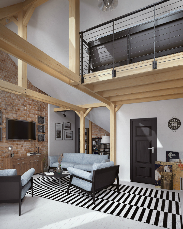Stunning Loft Interior Design Idea