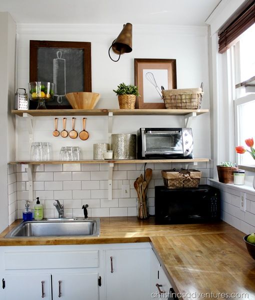 17 Best Images About Ideas For Small Kitchen On Pinterest: How To Make The Most Of A Tiny Kitchen