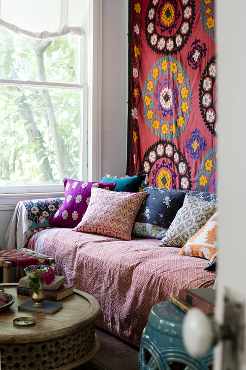 Amazing  Bohemian-Flavored Interiors 12