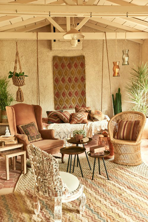 Amazing  Bohemian-Flavored Interiors 2
