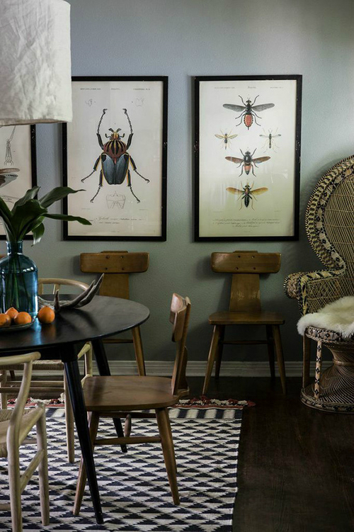Amazing  Bohemian-Flavored Interiors 20
