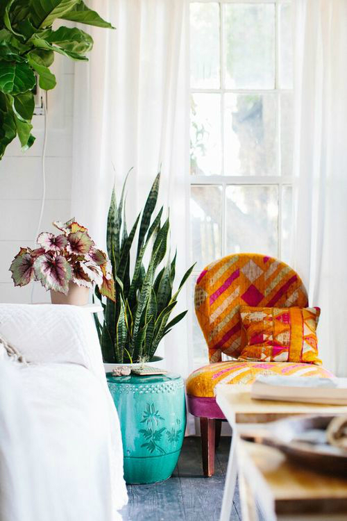 Amazing  Bohemian-Flavored Interiors 29