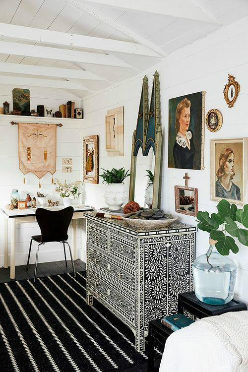 Amazing  Bohemian-Flavored Interiors 30