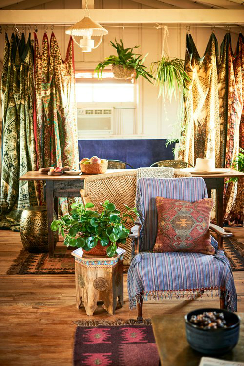 Amazing  Bohemian-Flavored Interiors 6