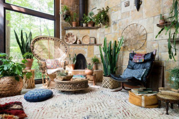 Amazing Bohemian-Flavored Interiors