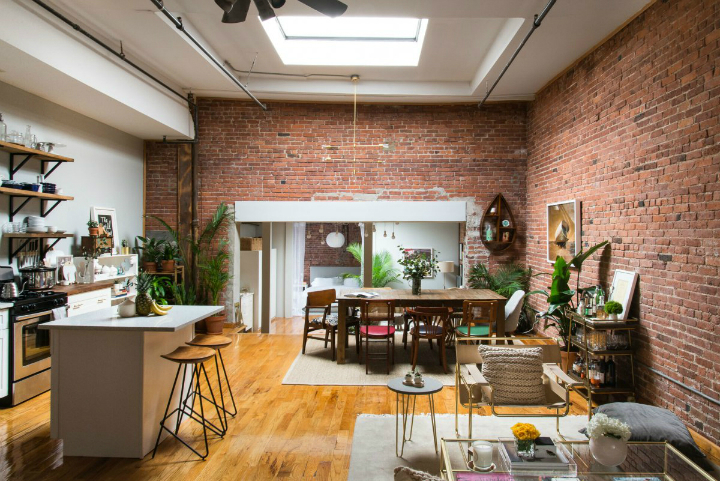 Art Lover's Chic Brooklyn Loft 3