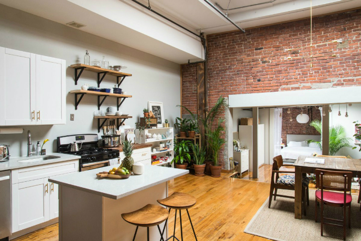 Art Lover's Chic Brooklyn Loft 5