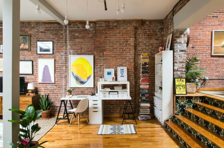Art Lover's Chic Brooklyn Loft 6
