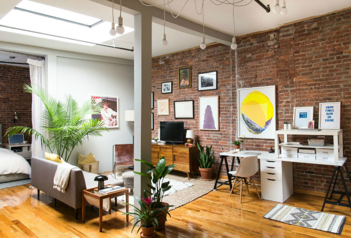 Art Lover's Chic Brooklyn Loft