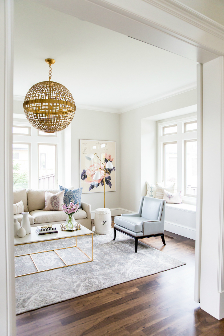 Glam and Style in the Confines of a Roomier Living Room 4