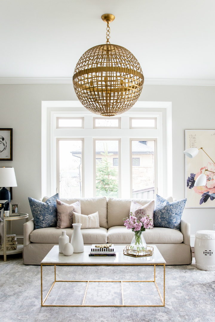 Glam and Style in the Confines of a Roomier Living Room 9